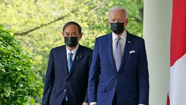 Japans Regierungschef Suga plädiert in Washington für enges Bündnis