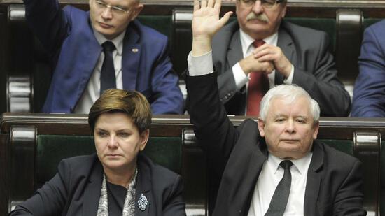 Polens Ministerpräsidentin Beata Szydlo tritt zurück