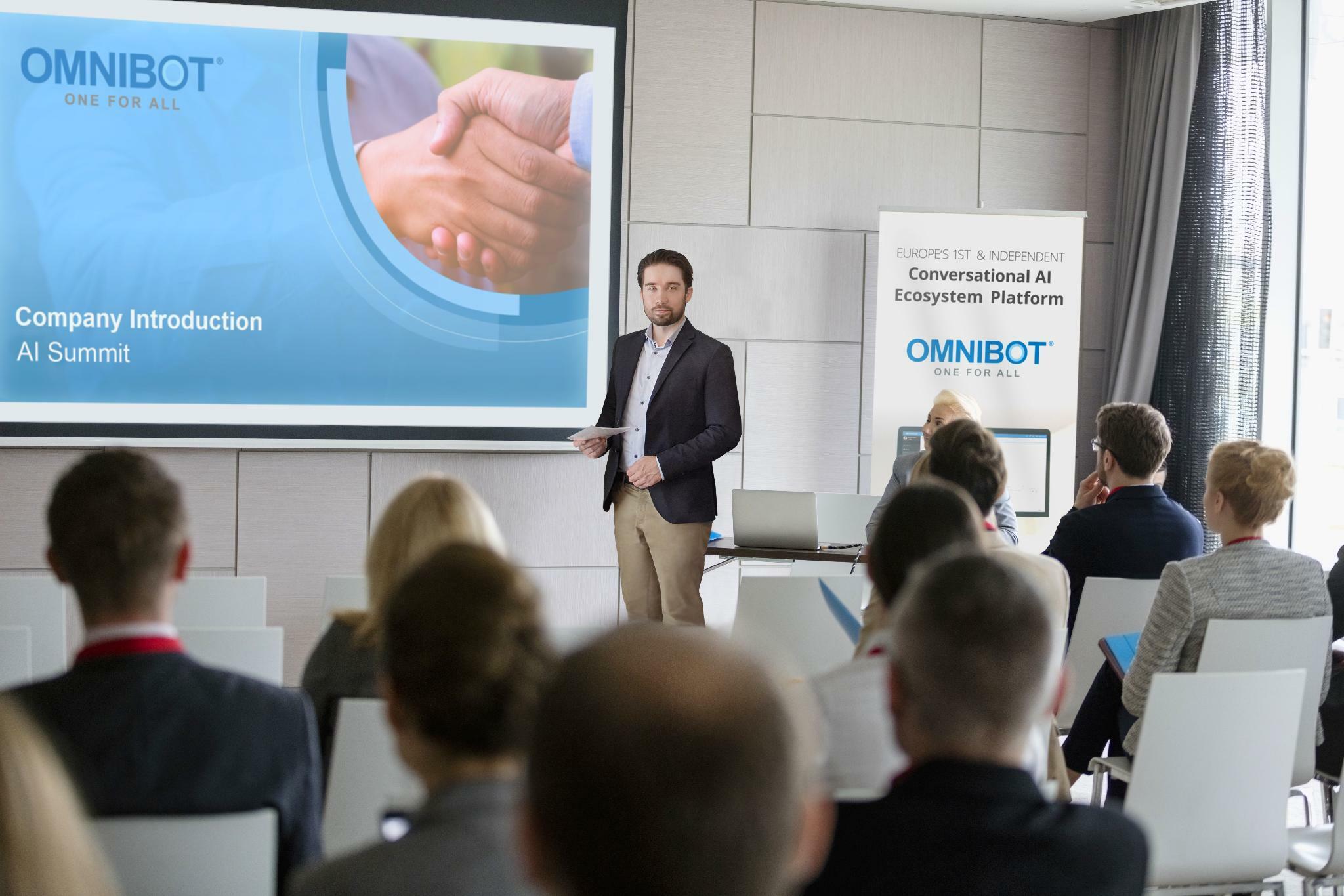 Omnibot will bei Sprachtechnologie Europas Nummer eins werden