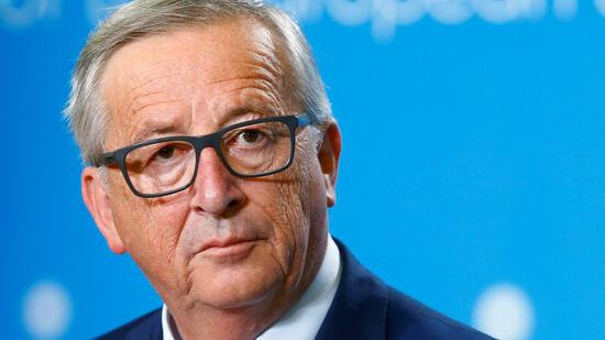 Juncker empört über leere Abgeordnetenbänke