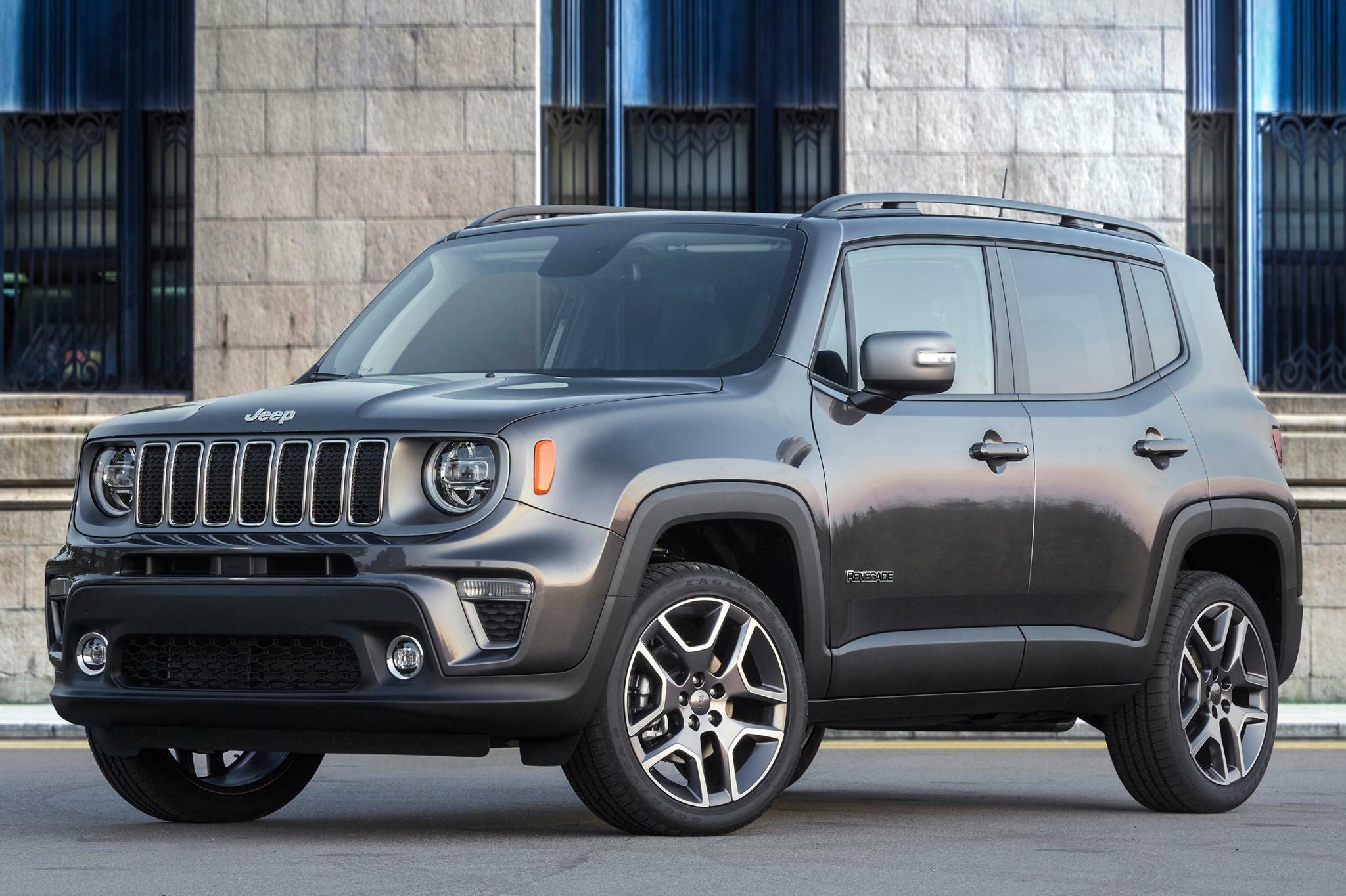 Jeep Renegade Fiat Chrysler Startet Seine Elektro Aufholjagd