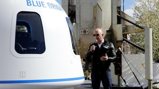 Bezos verkauft Aktien im Milliardenwert für Weltraum-Hobby