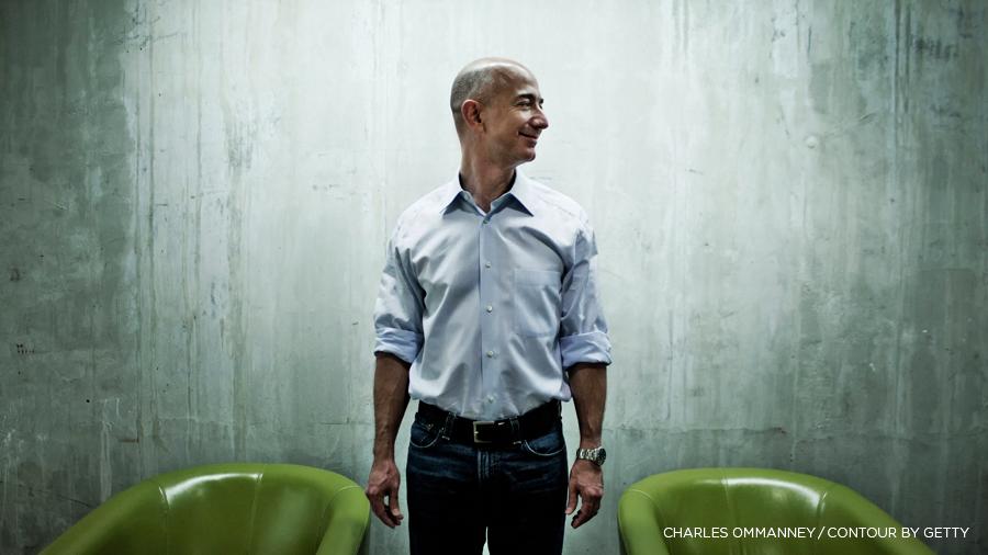 Jeffrey Jeff Bezos Deine Marge Ist Meine Chance