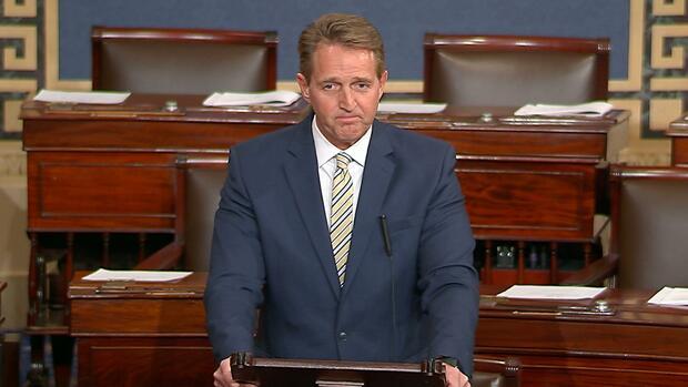 Jeff Flake: US-Senator bezichtigt Trump offen der Lüge