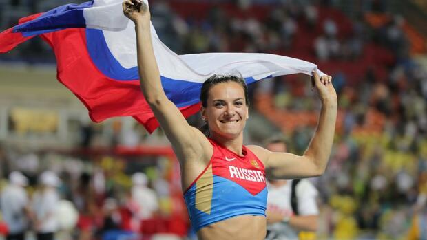 Jelena Issinbajewa: Wie eine Weltmeisterin zu Putins Verfassungsexpertin wurde
