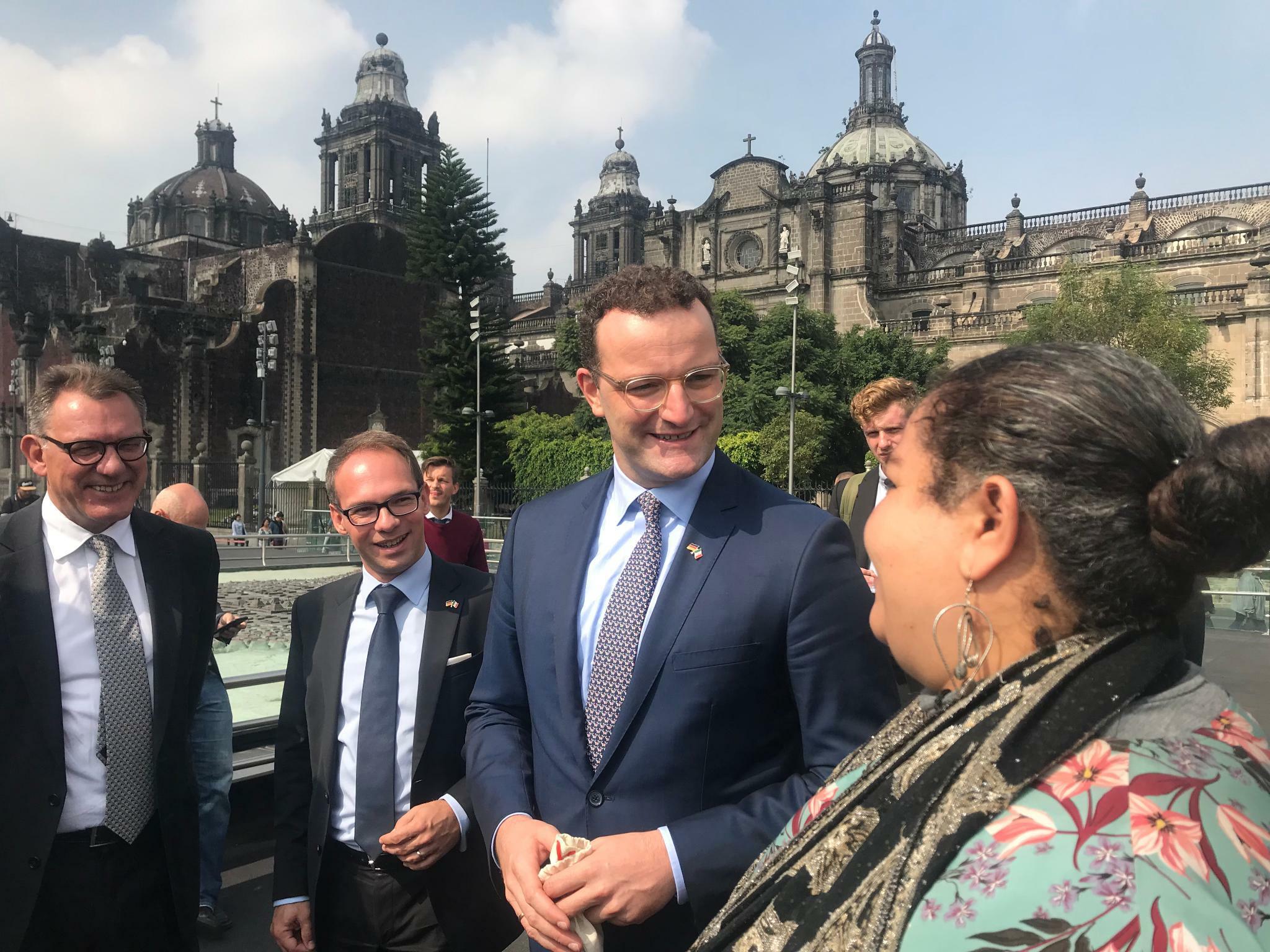 """Jens Spahn in Mexiko: """"Ich freue mich über jede Pflegekraft"""""""