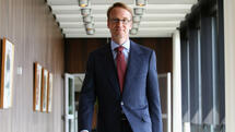 Bundesbank Präsident Jens Weidmann in der Bundesbank. Quelle: Getty Images