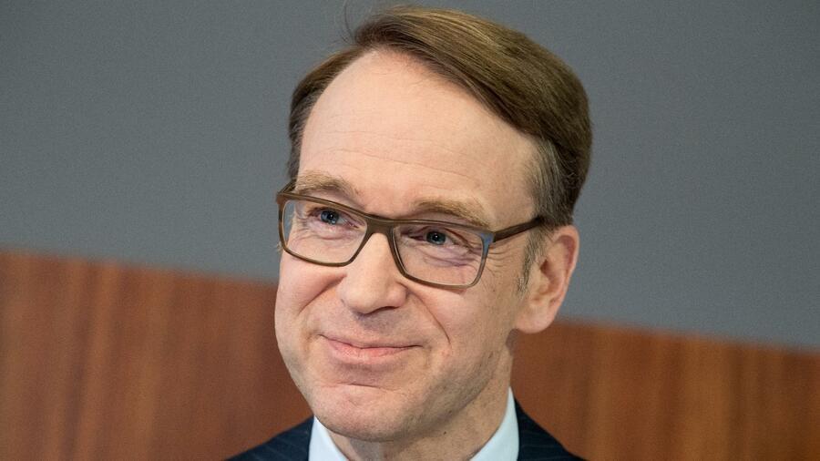Der Präsident der Bundesbank glaubt dass sich der Kurz der EZB bald ändern wird. Quelle dpa