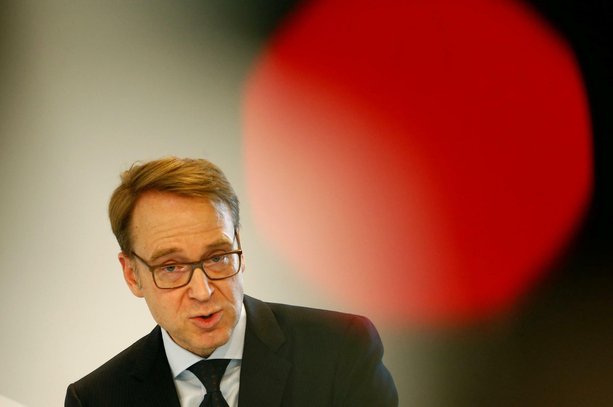 Bundesbank-Chef Weidmann warnt vor zu viel Konjunkturpessimismus