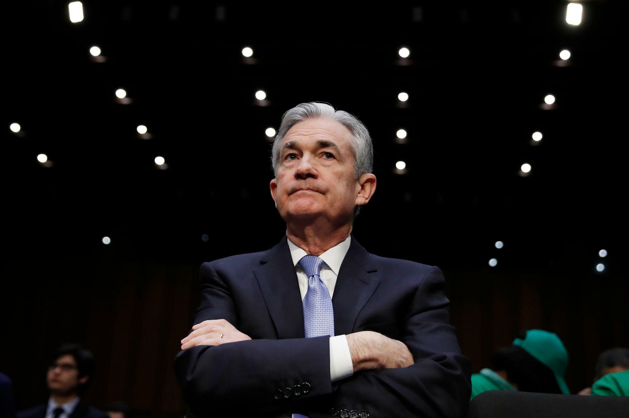 US-Notenbankchef Powell steht vor schwierigen Entscheidungen