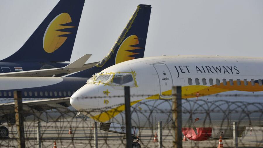 Indische Fluggesellschaft Jet Airways legt Flugbetrieb auf Eis