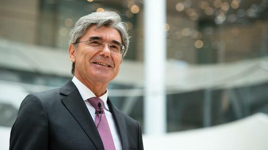 Siemens hält an Kaeser fest - Mandat bis 2021