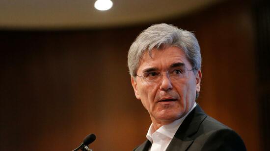 Siemens-Chef Kaeser kündigt