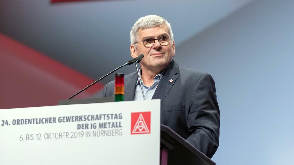 """IG-Metall-Chef Jörg Hofmann: """"Wollen BMW nicht verstaatlichen"""""""