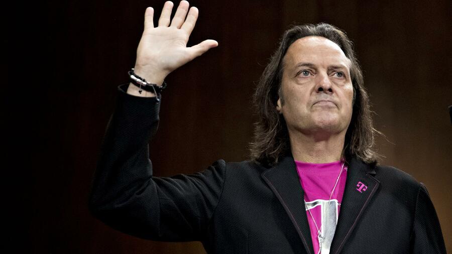 Telekom-Superstar John Legere steht vor dem Deal seines Lebens