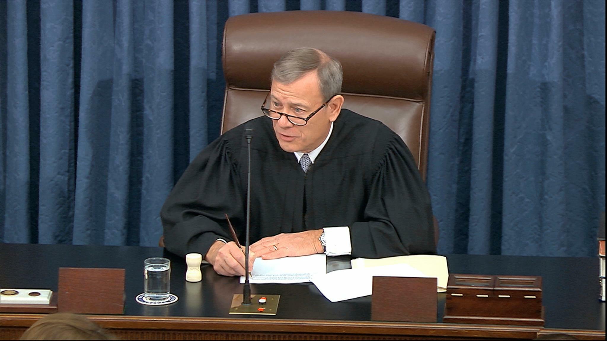 Der Oberste US-Richter Roberts setzt ein denkwürdiges Signal