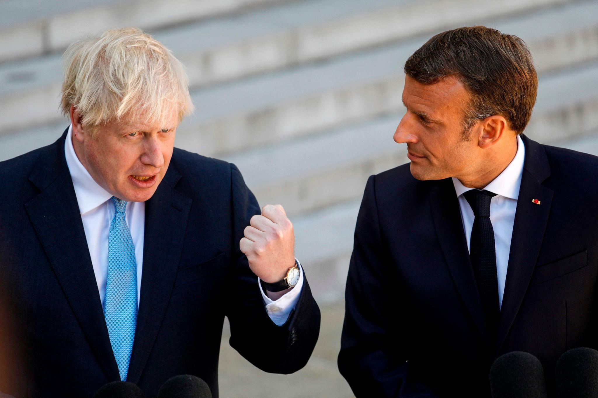 Boris Johnson betont in Paris seinen Einigungswillen beim Brexit