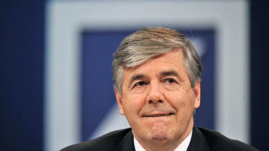 Ackermann: Deutsche Bank war zur Übergabe gut aufgestellt