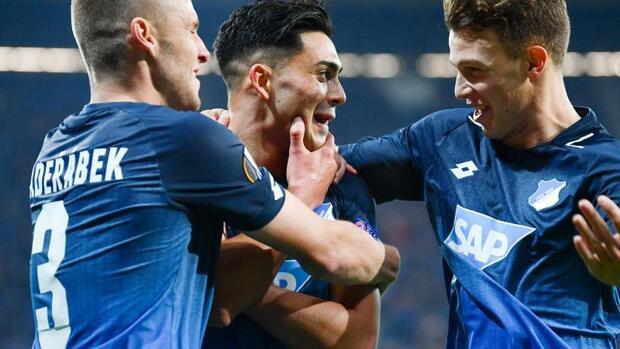Fußball: Hoffenheim beendet Sieglos-Serie in Europa League