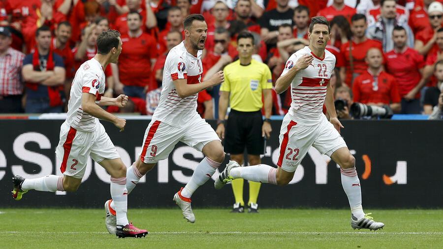Schweiz Gegen Albanien