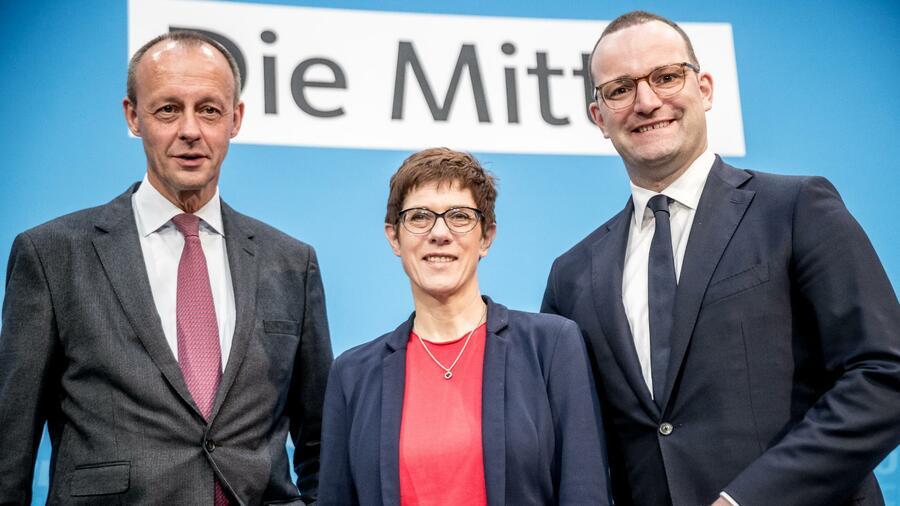 Cdu Vorsitz Jens Spahn Grenzt Sich Von Mitbewerbern Ab