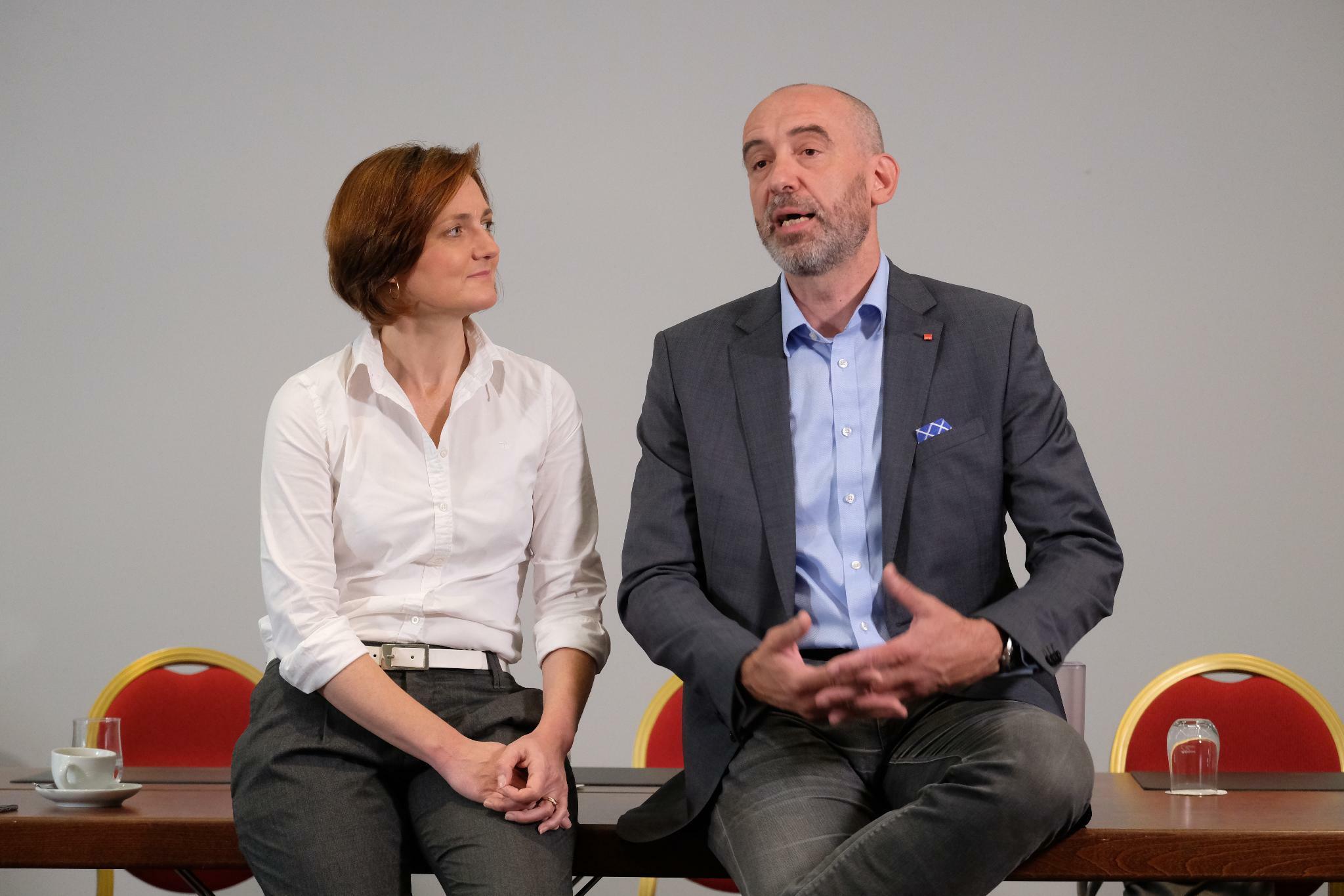 SPD-Kandidaten Lange und Ahrens plädieren erneut für GroKo-Austritt