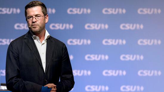 Ex-Verteidigungsminister Guttenberg im deutschen Wahlkampf
