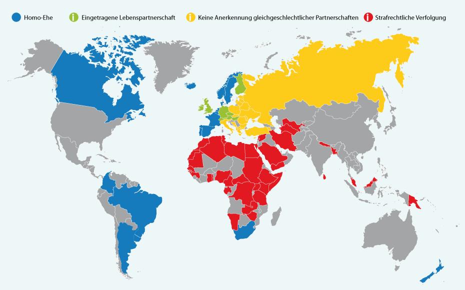 Immigration Rechte der homosexuellen Ehe