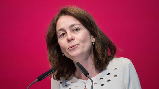Die SPD-Generalsekretärin soll neue Familienministerin werden. Quelle dpa