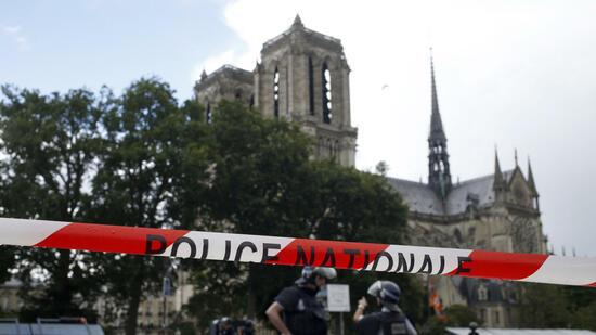 Chefermittler: Hammerangriff vor Notre-Dame war Terror