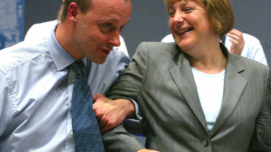 Return Match Friedrich Merz Smarting From Old Merkel Wounds Signals Quest For Party Chair