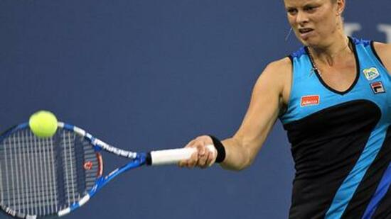 Kim Clijsters ist in New York weiter erfolgreich. Foto: SID Images/AFP/ Quelle: SID