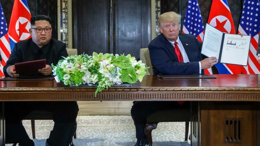 Trump und Kim suchen Neuanfang ROUNDUP 2/Positive Signale auf Gipfel