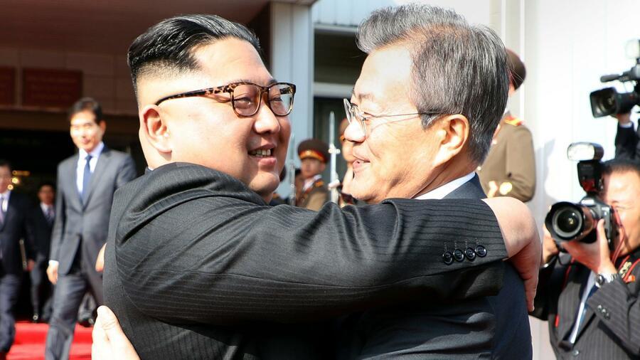 Südkoreas Präsident Moon trifft erneut Nordkoreas Machthaber Kim