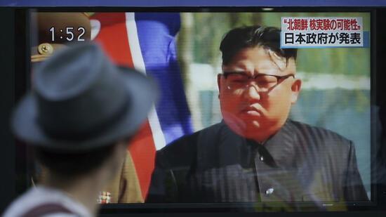 Nordkorea feuert erneut Rakete über Japan