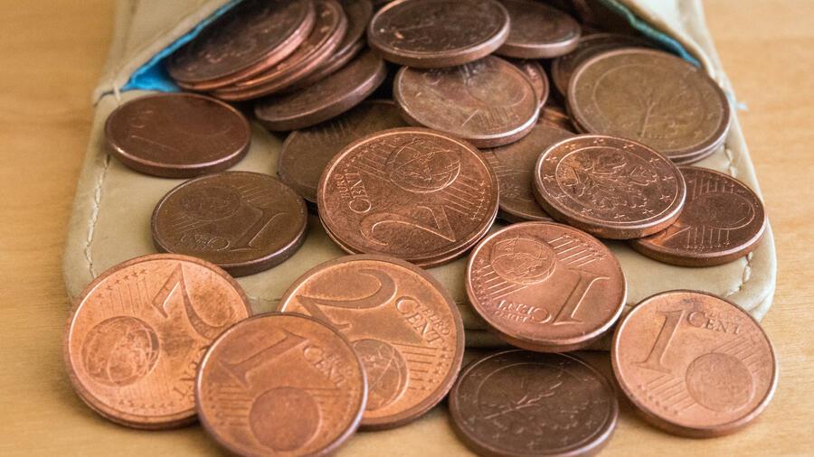 Cent Münzen Diese Glücks Cents Werden Wir Vermissen