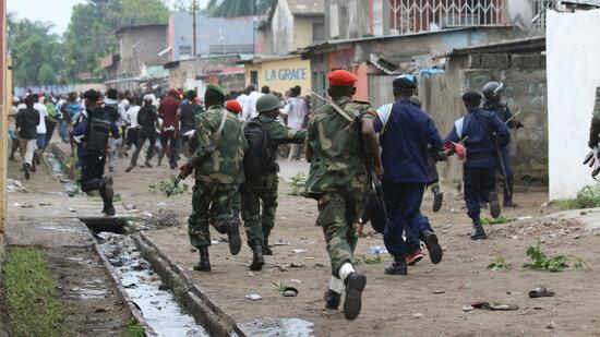 Polizei geht mit Tränengas gegen Oppositionsanhänger vor