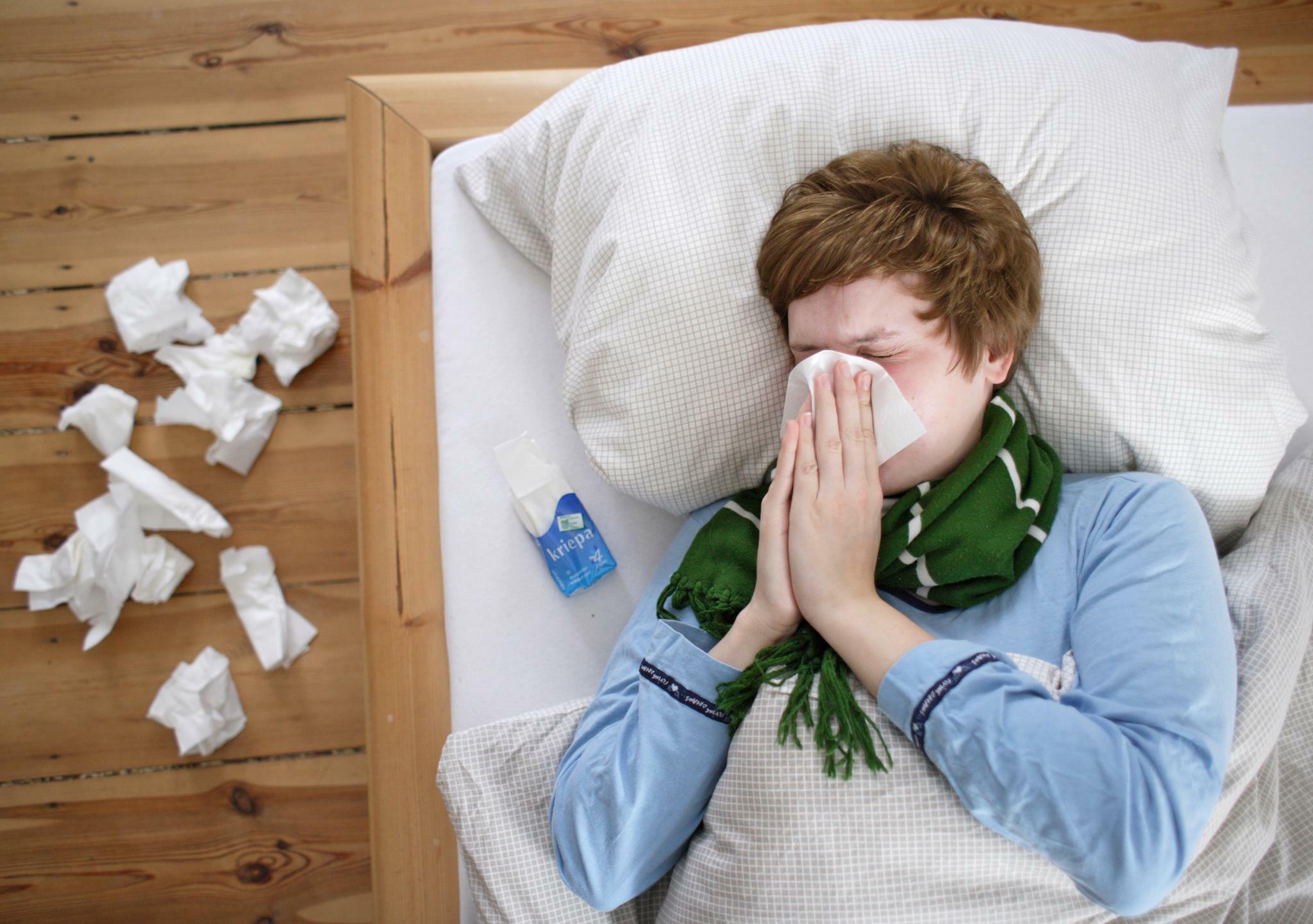 Präsentismus In Der Grippewelle Kranke Bleibt Zu Hause