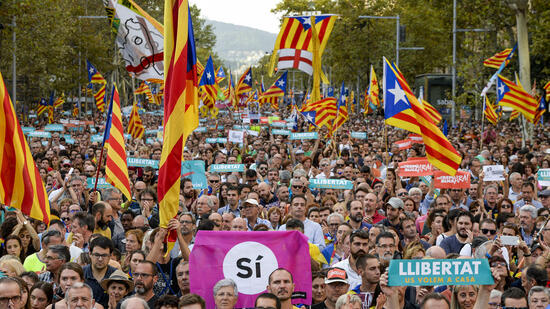 Regierung in Madrid ruft Katalanen zu zivilem Ungehorsam auf