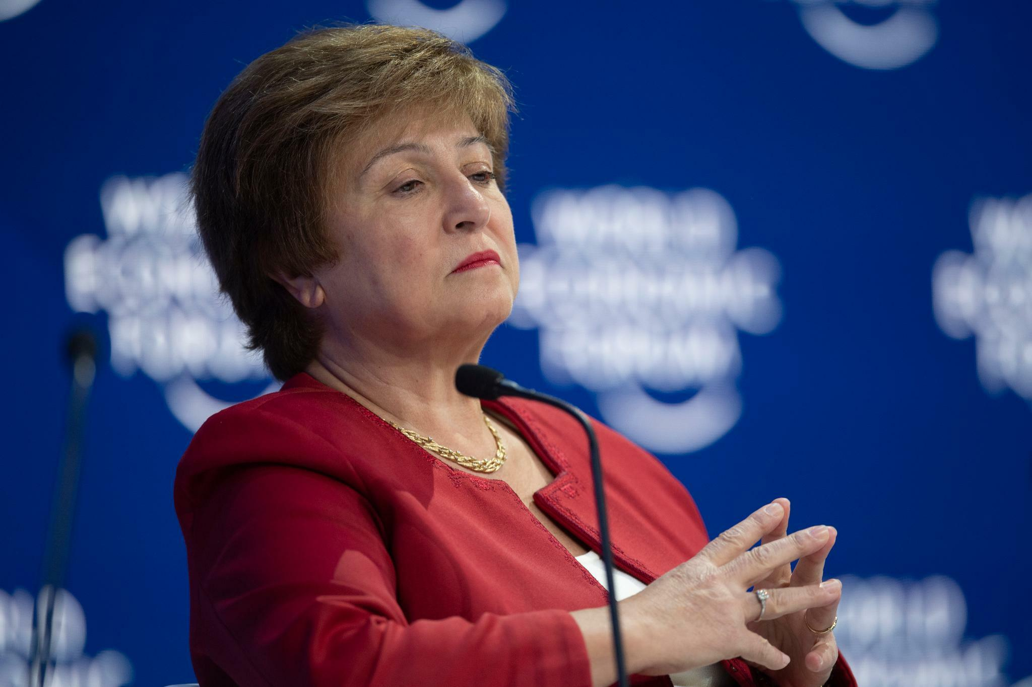 IWF-Chefin Kristalina Georgiewa kämpft gegen Protektionismus