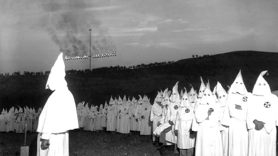 Rassismus In Den Usa Eng Verbunden Mit Dem Ku Klux Klan