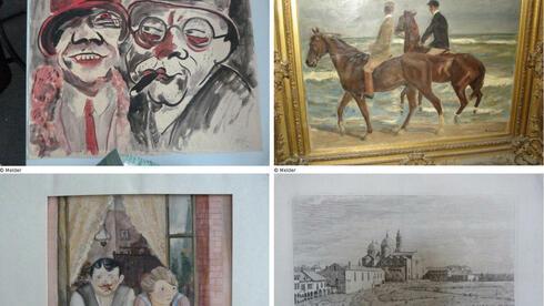 Werke aus dem spektakulären Kunstfund: Gurlitt ist bereit, einiger Bilder dem Erben zurück zu geben. Die Staatsanwaltschaft will eine Einigung zwischen den beiden prüfen. Quelle: dpa