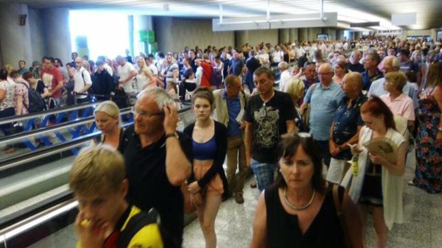 chaos flughafen frankfurt