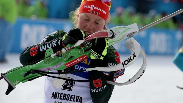 Biathlon: Biathletin Dahlmeier bereit für Gold-Mission bei Olympia