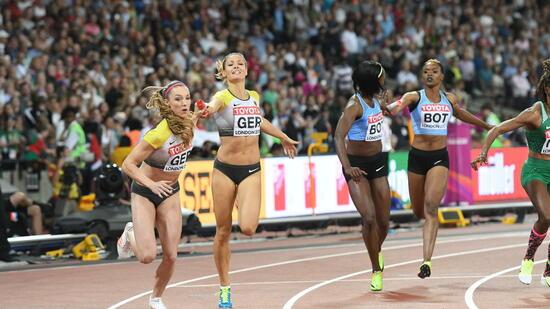 Medaillenspiegel Leichtathletik Wm