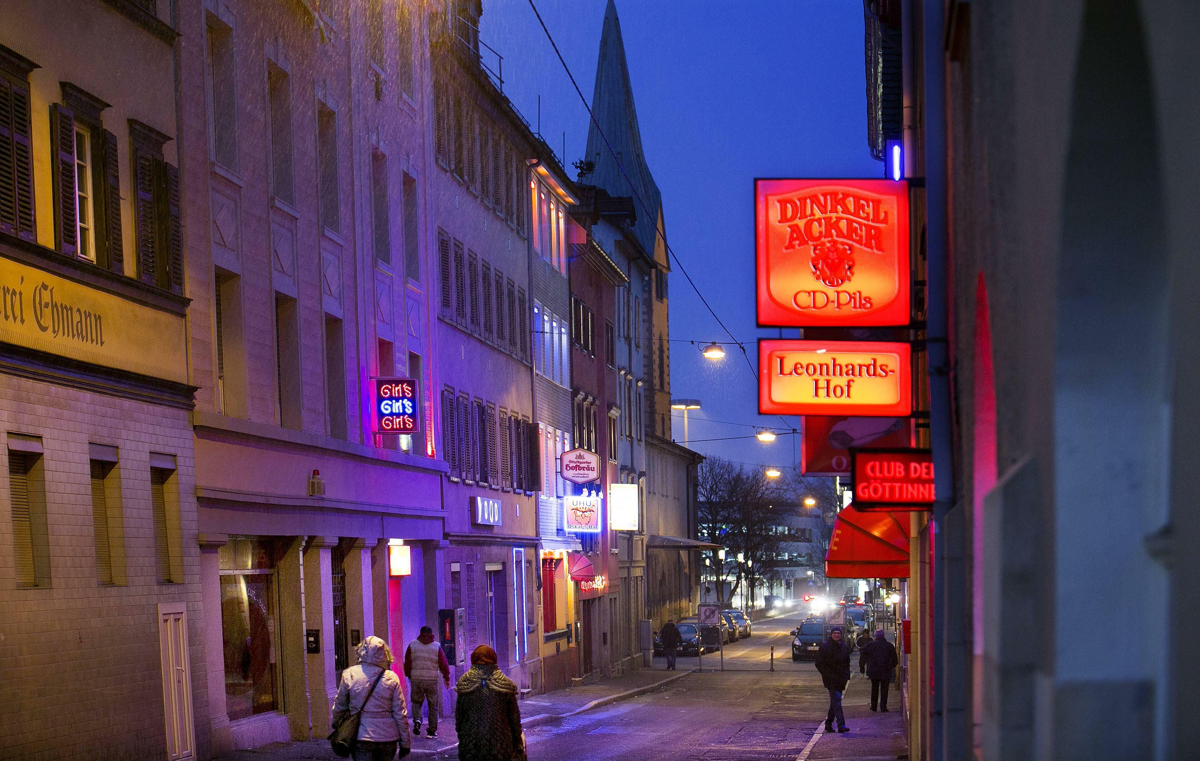 Rotlichtviertel münchen List of