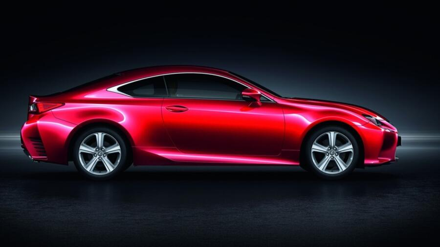 Lexus RC 200t - Coupé mit Turbo Quelle: Lexus