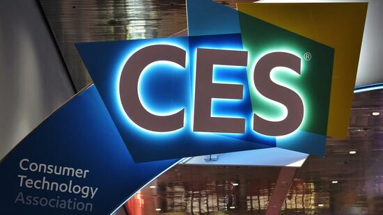 Logo der CES