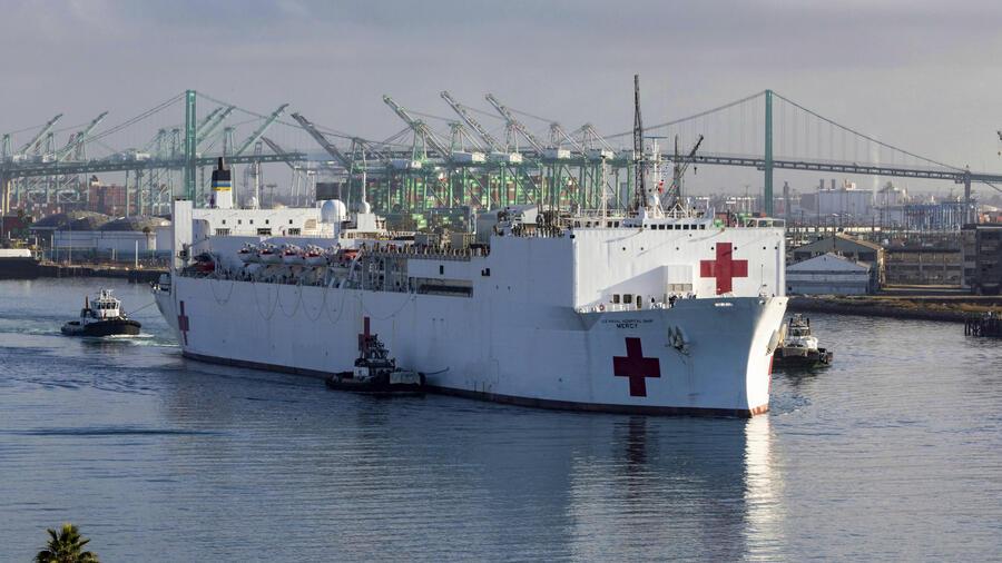 Auf Platz zehn der größten Containerhäfen der Welt steht der Hafen von Los Angeles / Long Beach. Quelle: dpa