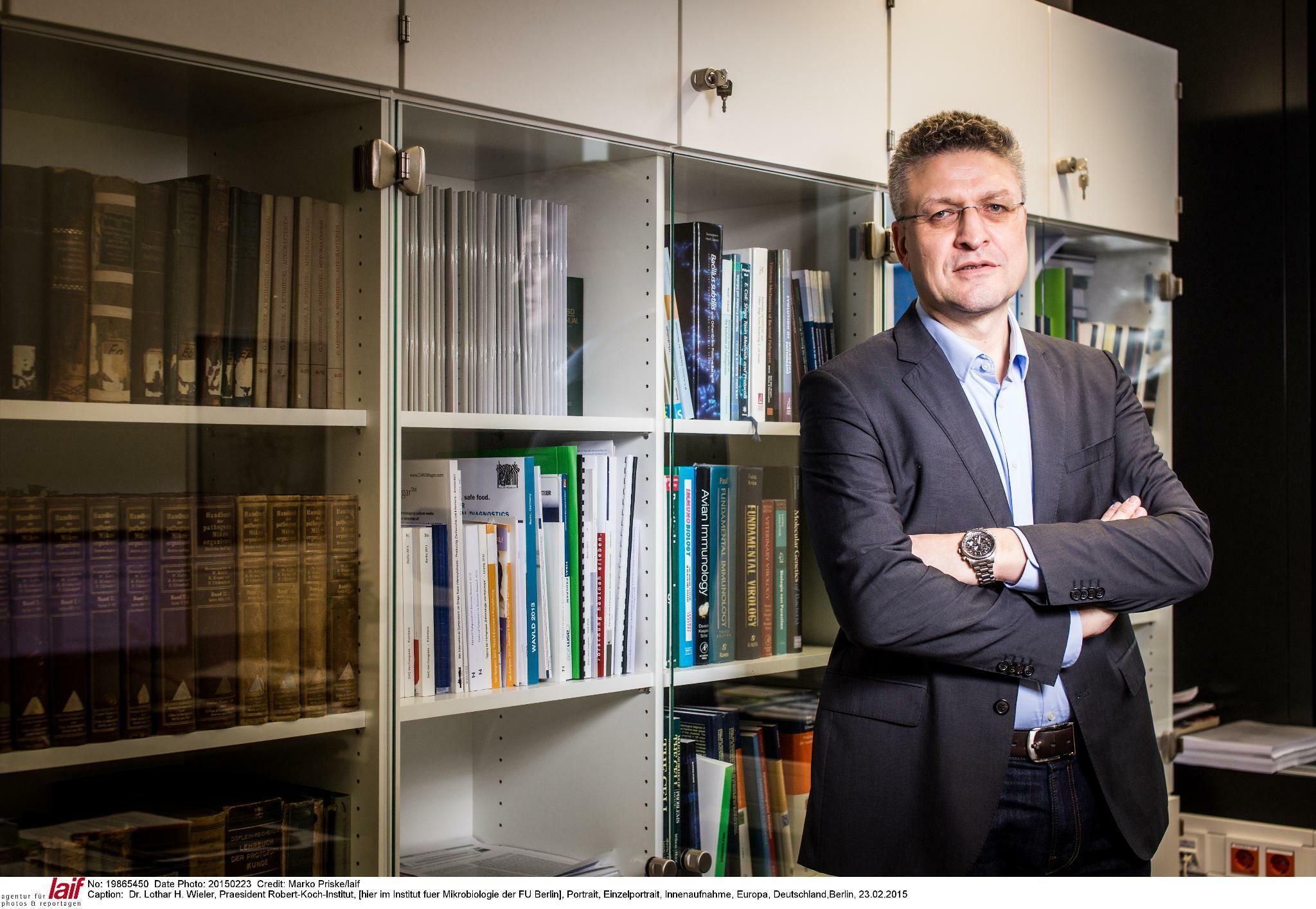 Lothar Wieler Das Ist Deutschlands Experte Fur Das Coronavirus